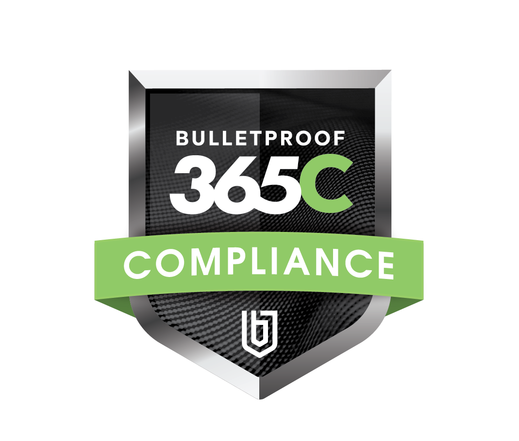 Bulletproof 365 Compliance Badge_Green